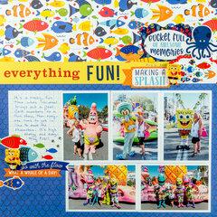 SpongeBob and Friends at Universal Studios Orlando