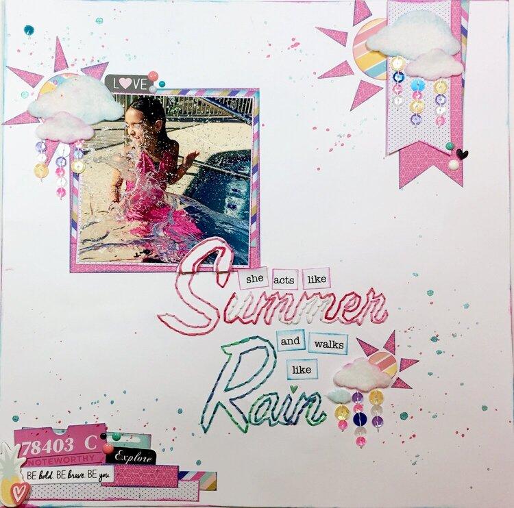 SpiegelMom Scraps Guest Designer Layout: July Blog Hop