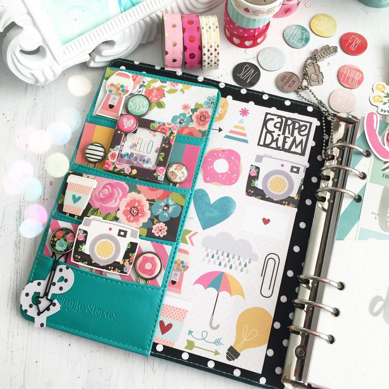 Carpe diem planner Pocket