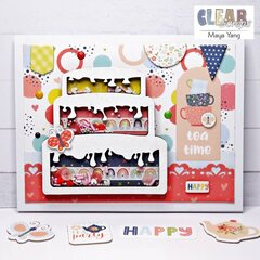 Birthday Cake Shaker Card