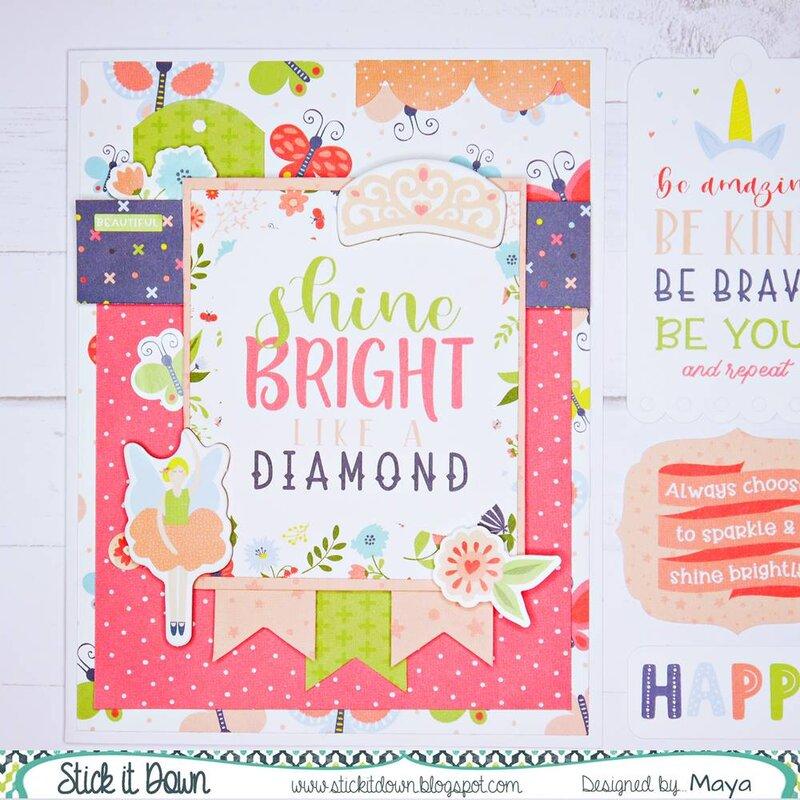 Card - Shine Like a Diamond