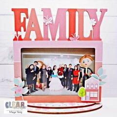 Family Desktop Frame