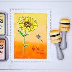 Hello Bee-autiful Greeting Card