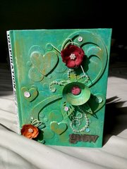 Mixed Media Journal Cover