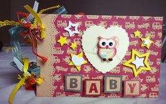 Baby Owl Mini Album Cover