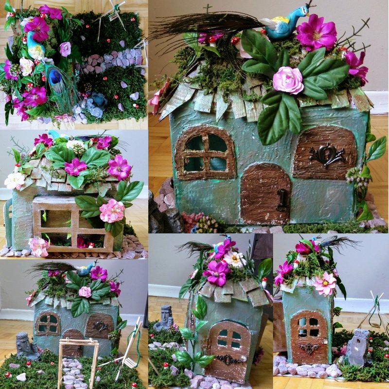 Mixedmedia Fairy House
