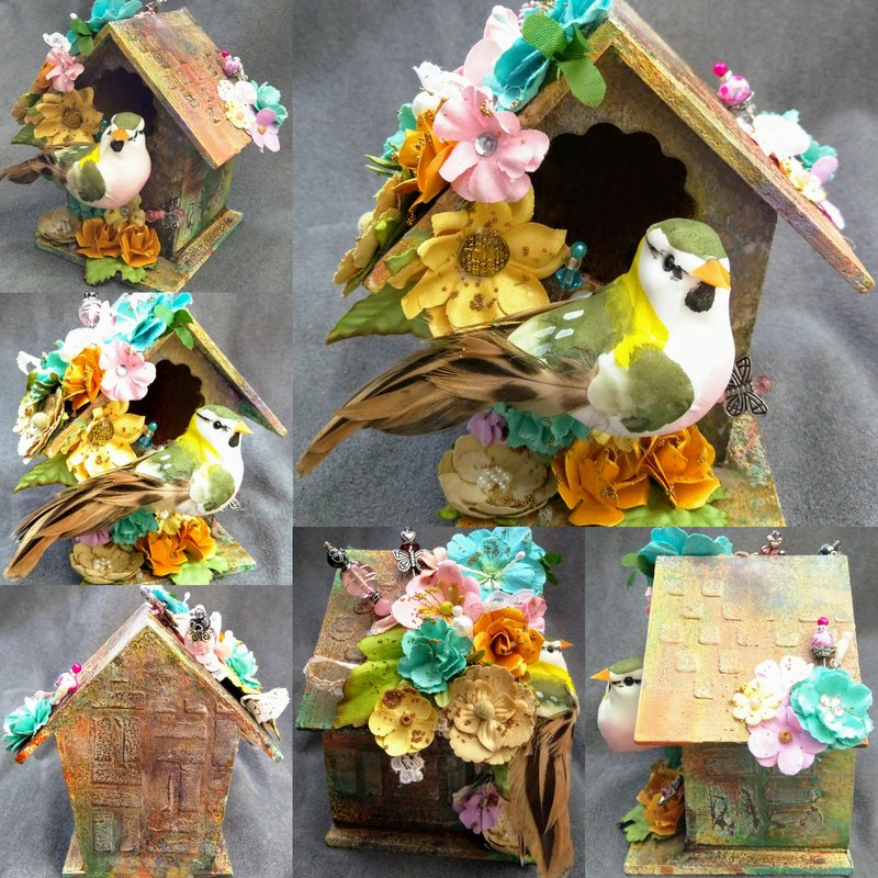 Mixedmedia Birdhouse