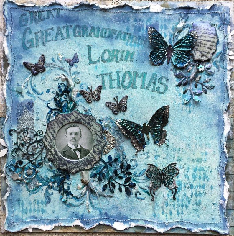 Great, great grandfather Lorin Thomas