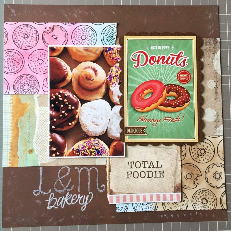Favorite Bakery/Doughnuts - Foodie Scrapper