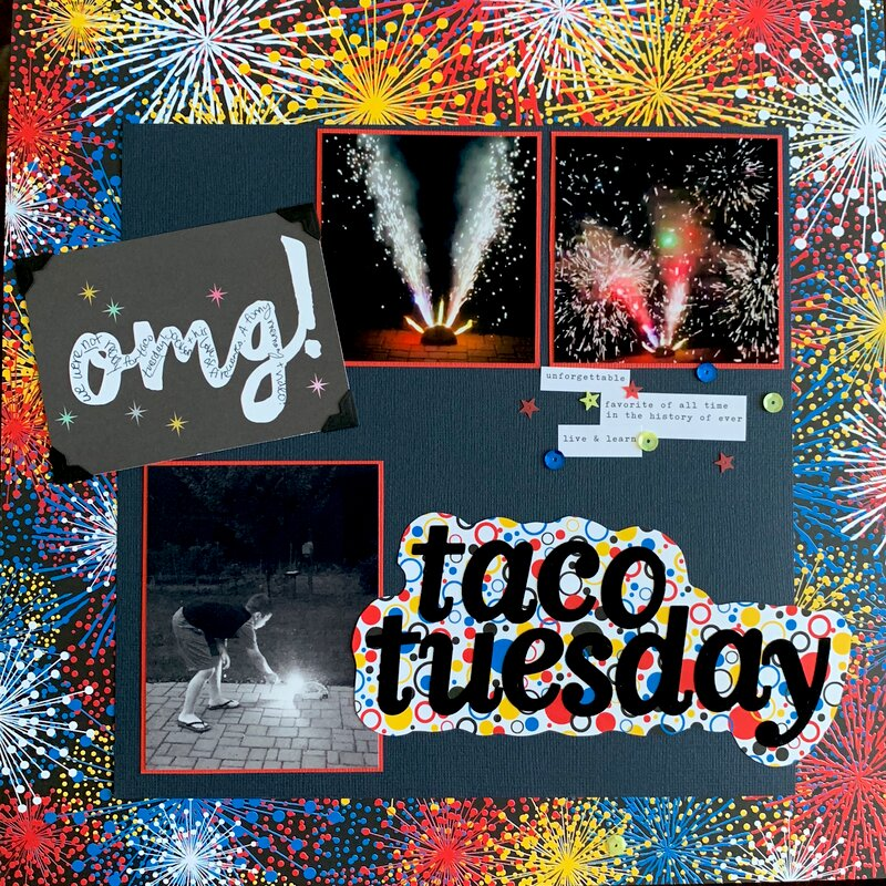 Taco Tuesday Surprise Fireworks