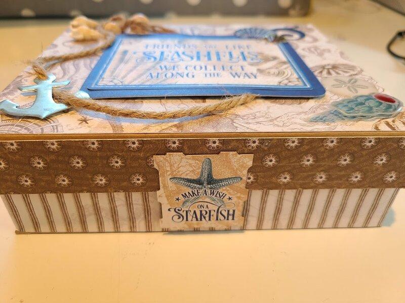 G45 Ocean Blue Decorative Box
