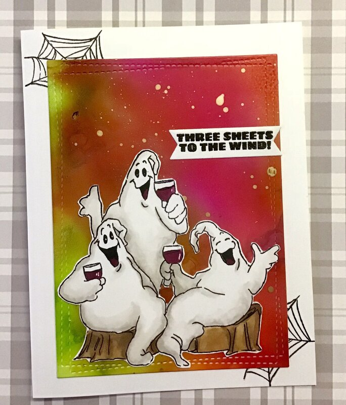 AiStamps Fright Night Ghosts