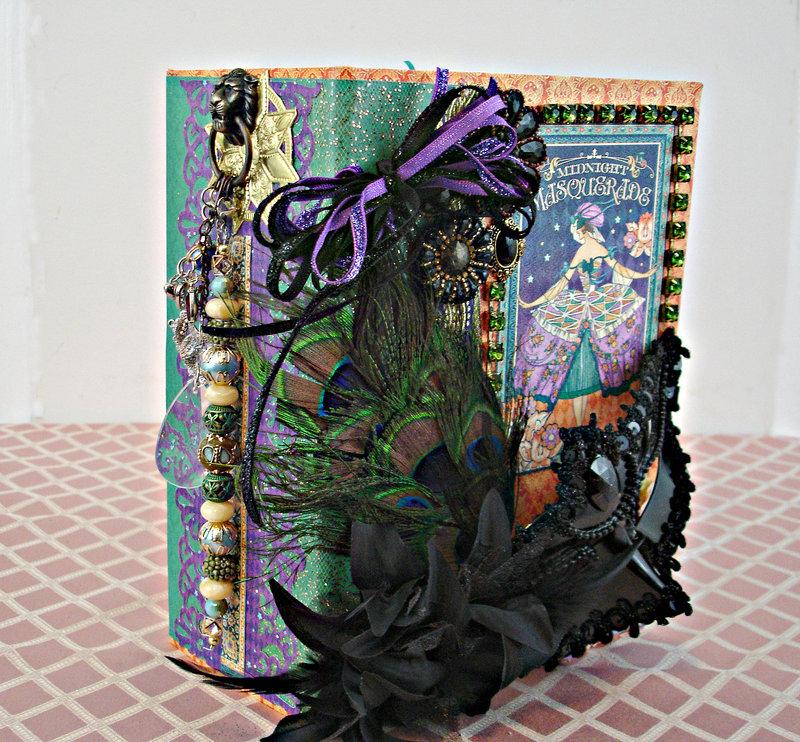 Graphic 45 Masquerade Mini Album
