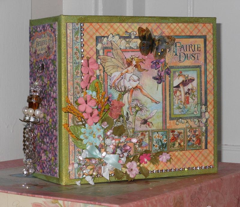Graphic 45 Fairy Dust Mini Photo/Memory Album
