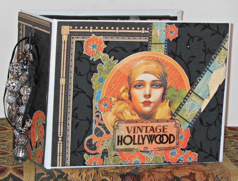 Graphic 45 Vintage Hollywood Mini Album