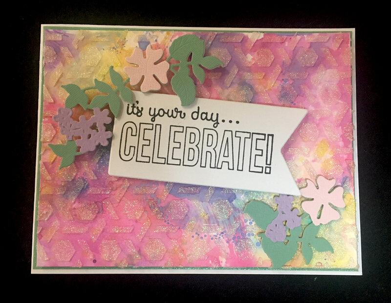 Textured Birthday Card