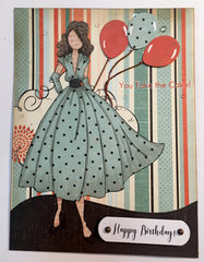 Julie Nutting Rita Birthday Card