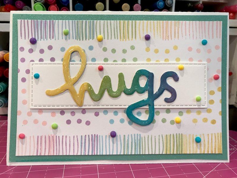 Rainbow Stripes & Polka Dot Hugs