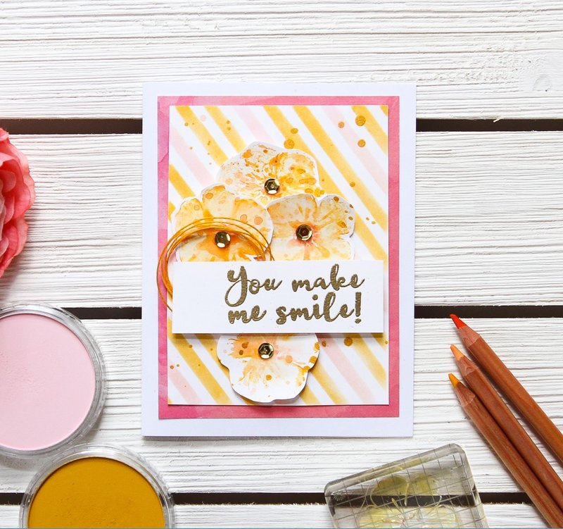 You Make Me Smile by Patricia Roebuck for Richard Garay