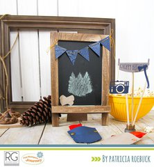 Lumberjack Days Inspiration from Patricia Roebuck for Richard Garay and Spellbinders