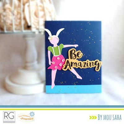Be Amazing by Mou Saha for Richard Garay