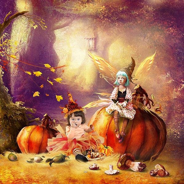 In The Pumpkin Field
