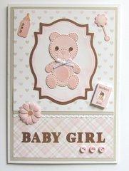 Baby Card with Teddy Bear