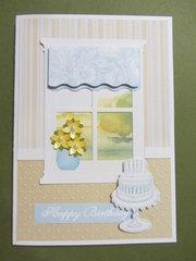 Birthday Window Card