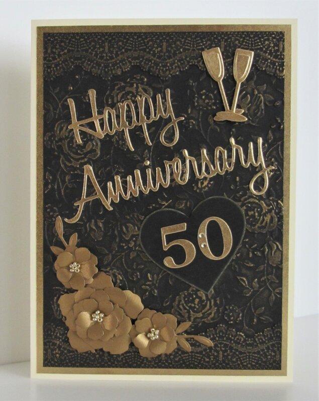 Golden Anniversary Card
