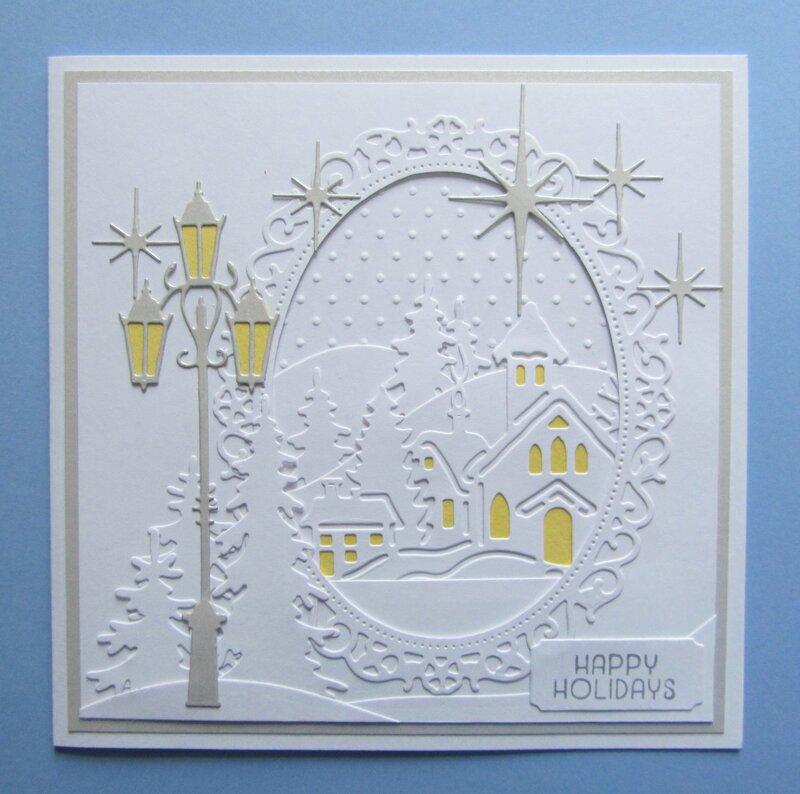 Lamp Post Christmas Card