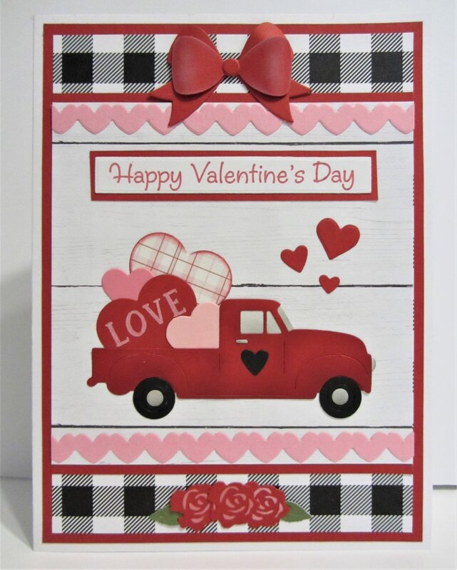 Valentine Card with Truck