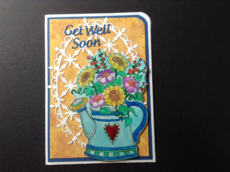 Get Well Watering Tin