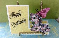 Happy Birthday steps