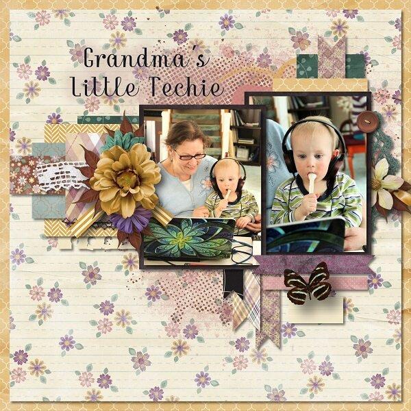 Grandma's Little Techie