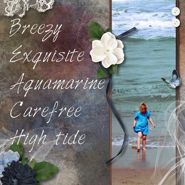 Beach Acrostic