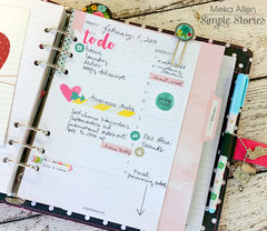 Carpe Diem Planner Daily Layout Page