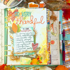 Gather Together Simple Stories in Carpe Diem Planner