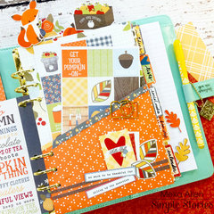 Hello Fall - Simple Stories Carpe Diem Planner