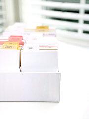 Pocket Cards Organizer