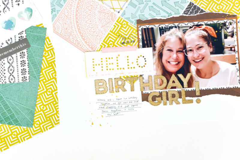 Birthday Girl 12x12 Layout