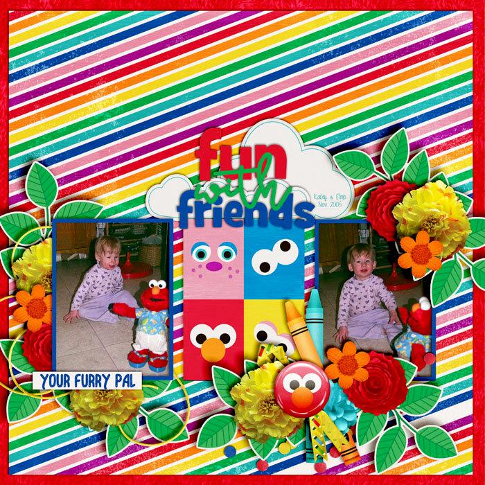 Kailey and Elmo