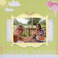 Clubhouse Thursday's