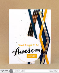 Awesome Chevron Card