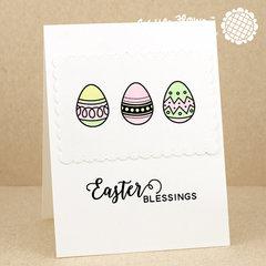 Egg Hunt Eggs Card
