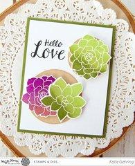 Succulents Card