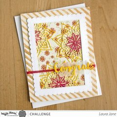 Lacy Flowers Card