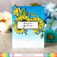 Sunflower Love Card