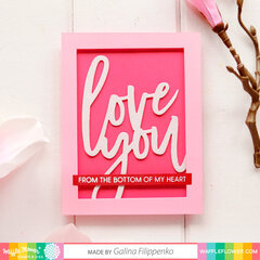 Oversized Love Card