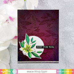 Potted Lily Card