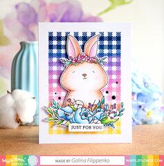 Rejoice Rabbit Card